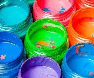 Акриловые краски: окраска древесины