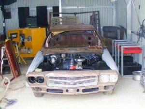 Покраска автомобиля в гараже — преимущества и недостатки
