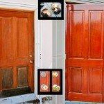 Реставрация двери — Дверь как новая