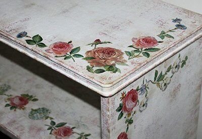 Подготовка к покраске мебели под стиль «французский кантри»