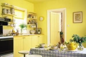 В какой цвет покрасить кухню? Фото на кухне.