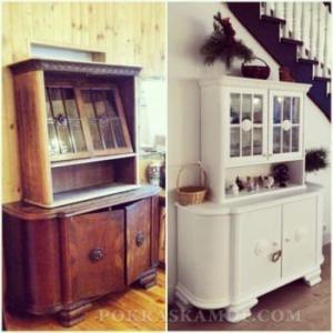 Можно ли покрасить старую мебель?