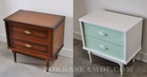 можно ли покрасить старую мебель