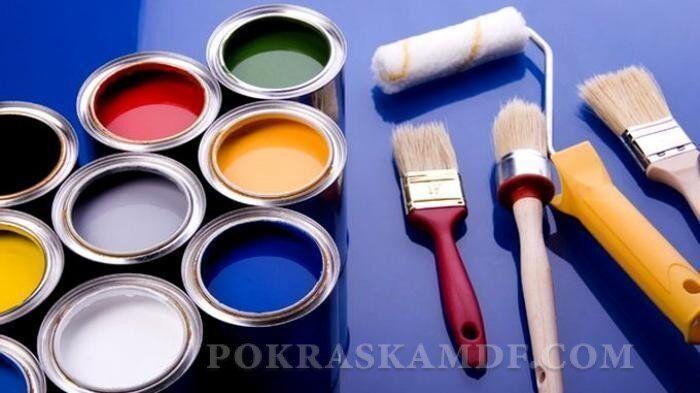 Выбор краски для покраски стен