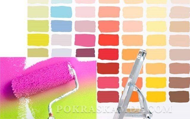 Выбор краски в магазине