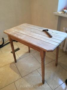 Как деревянный обеденный стол превратился в изумительный элемент декора детской