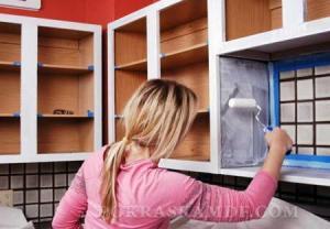 Красим мебель в домашних условиях