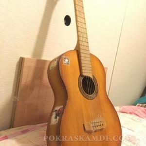 Реставрация гитары