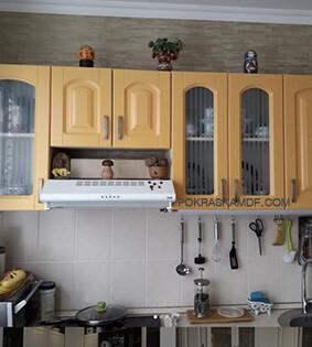 Покраска фасадов кухни