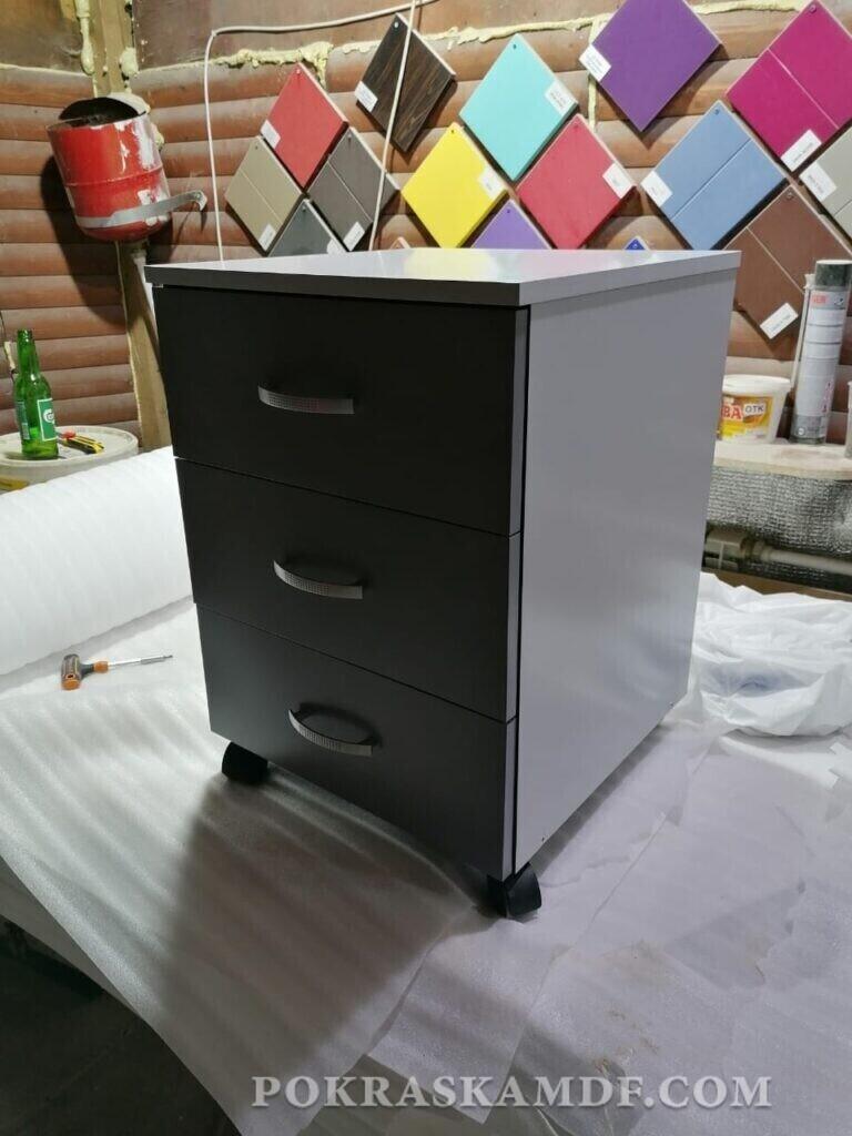 как красить мебель