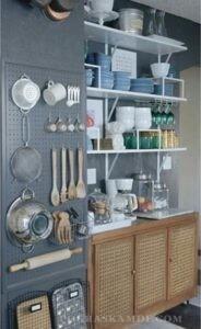 Большой секрет для маленькой кухни: хранение
